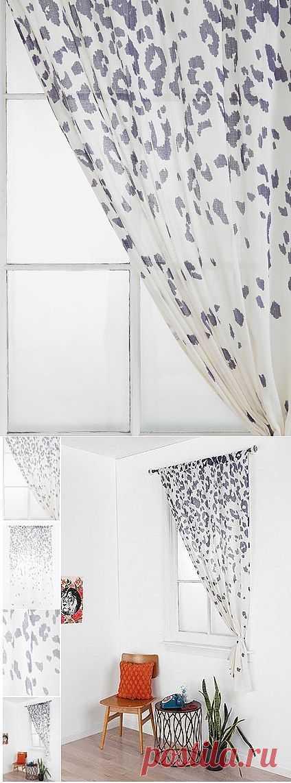 Леопардовые шторы / Шторы / Модный сайт о стильной переделке одежды и интерьера