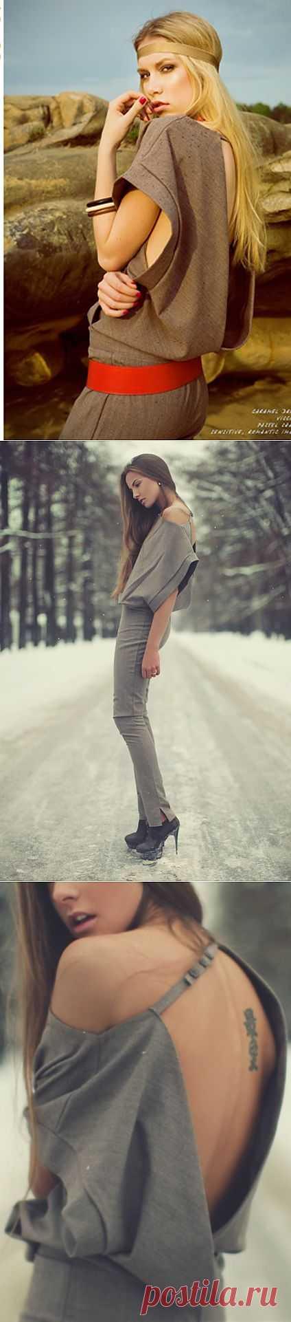 Комбинезон? / Декор спины / Модный сайт о стильной переделке одежды и интерьера