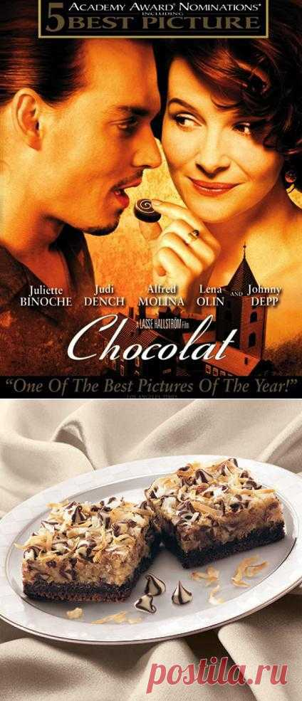 """Кокосовые шоколадки из Гватемалы. Хрустящие тающие конфеты с кусочками шоколада и кокосом. """"А эти для вашего мужа - кокосовые шоколадки из Гватемалы, чтобы пробудить его страсть."""""""