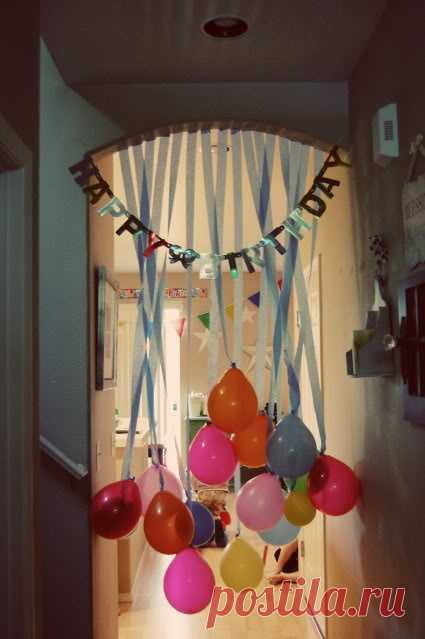 Morning of birthday of the kid – idea for the birthday man's meeting