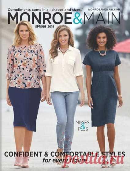 0f710cf10ef Monroe and Main - американский каталог женской одежды обычных и больших  размеров весна 2018