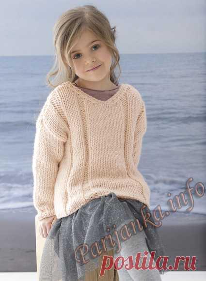 Пуловер (д) 07*150 Phildar №5037