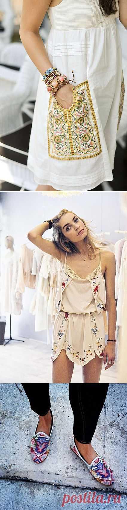 Интересные вышивки (подборка) / Вышивка / Модный сайт о стильной переделке одежды и интерьера