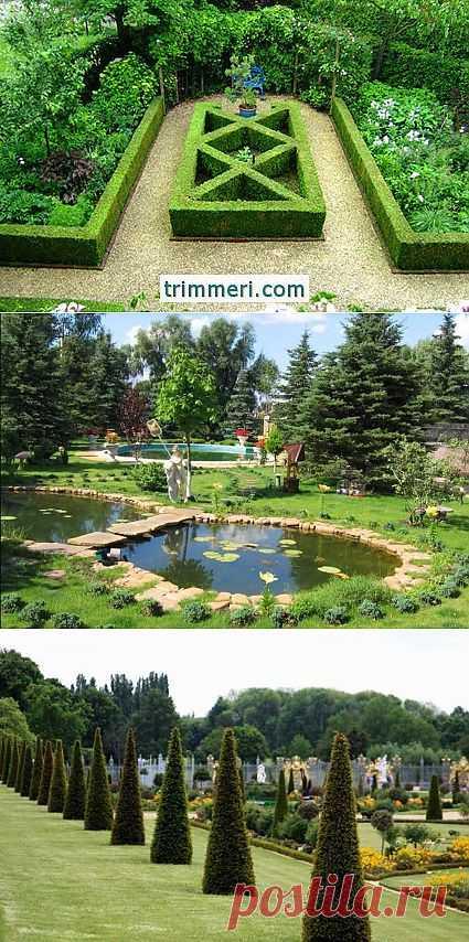 Как обустроить сад и дачу в стиле барокко