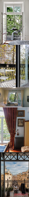 Юридически: Можно ли сделать французское окно на балкон | Houzz Россия