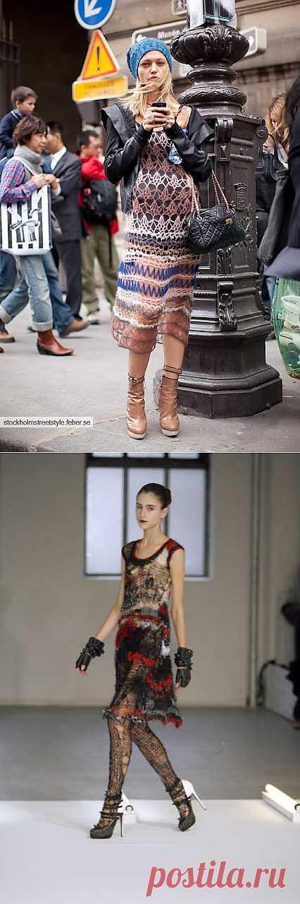 Платье моей мечты (подборка) / Вязание / Модный сайт о стильной переделке одежды и интерьера