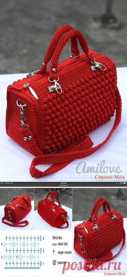 5494c10ee093 Красивая сумка крючком опрос на онлайн - Вязание - Страна Мам ...