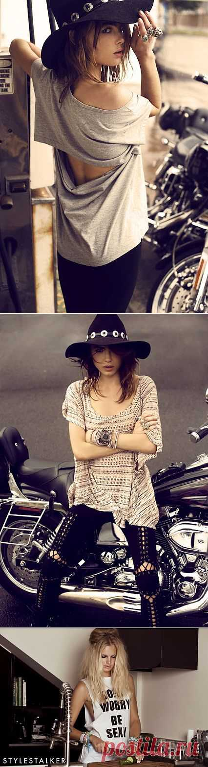 Desert Fox Collection (Лукбук) / Футболки DIY / Модный сайт о стильной переделке одежды и интерьера