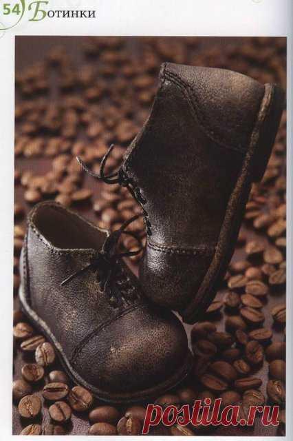 8a213d6b872b Туфли лодочки и ботиночки для кукол своими руками, схемы   Обувь для кукол  своими руками