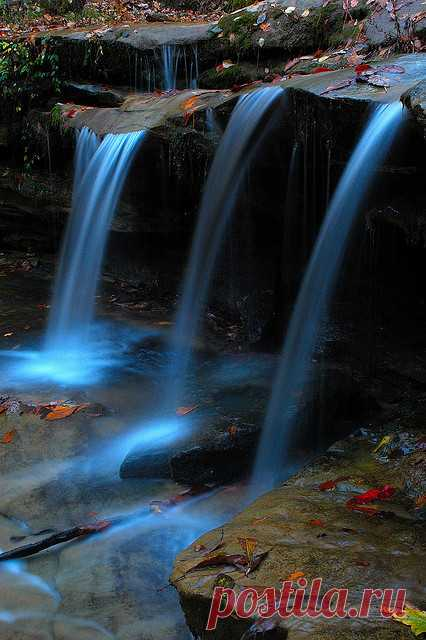 """coiour-my-world: """" Seven Falls. by BamaWester on Flickr. North Alabama """""""