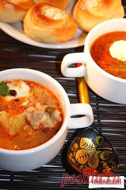 Кубанский чесночный суп / Мясные супы / Кукорама — вкусные рецепты!
