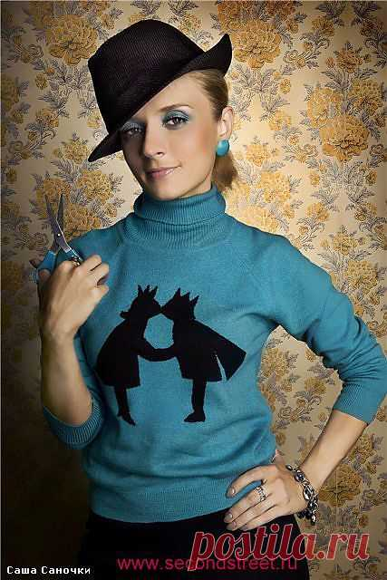 Аппликация на свитере / Аппликации / Модный сайт о стильной переделке одежды и интерьера