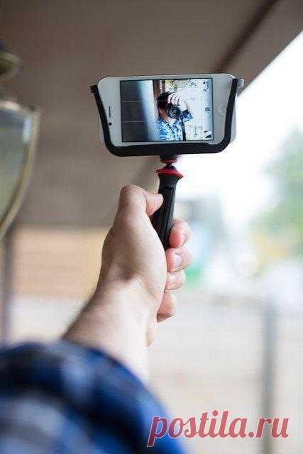 стабилизатор для съёмки видео на смартфон - $20