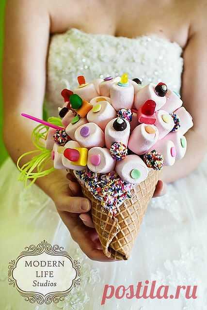 Букет невесты-сладкоежки / Свадебная мода / Модный сайт о стильной переделке одежды и интерьера