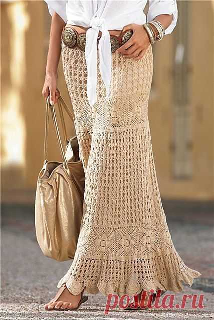 Длинная юбка из каталога Boston Proper | Шкатулочка для рукодельниц