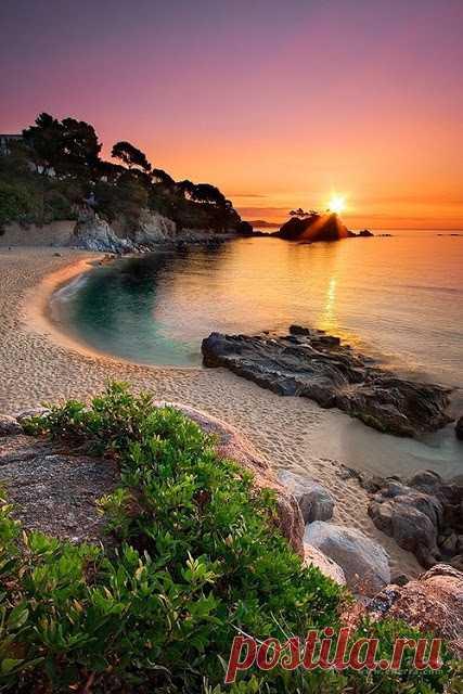 Одно из лучших живописных мест Испании. Каталония, Коста Брава