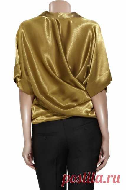 Выкройка оригинальной блузки / Простые выкройки / Модный сайт о стильной переделке одежды и интерьера