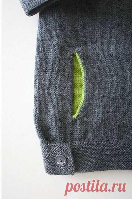 Акцент на деталях. Оригинальные мелочи в вязании, которые придают модели изюминку.