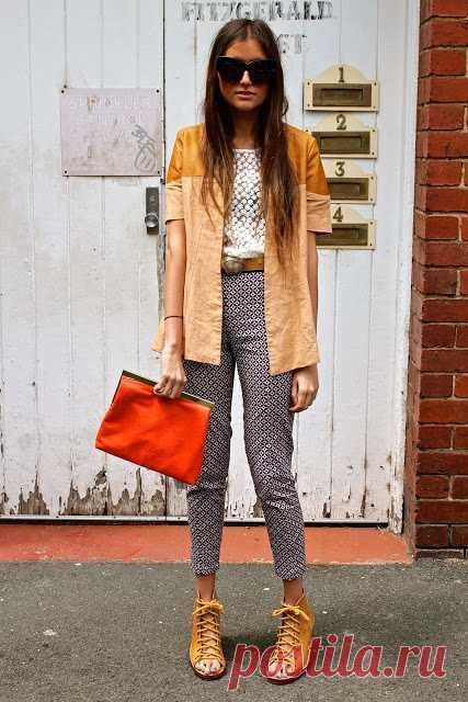 Куртка (жакет?) с кожей / Курточные переделки / Модный сайт о стильной переделке одежды и интерьера