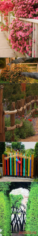Неописуемая красота: креатифф-подход к заборам и калиткам на садовом участке | Наш уютный дом