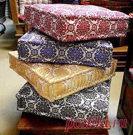 (+1) - Напольные подушки для комфорта | СДЕЛАЙ САМ!
