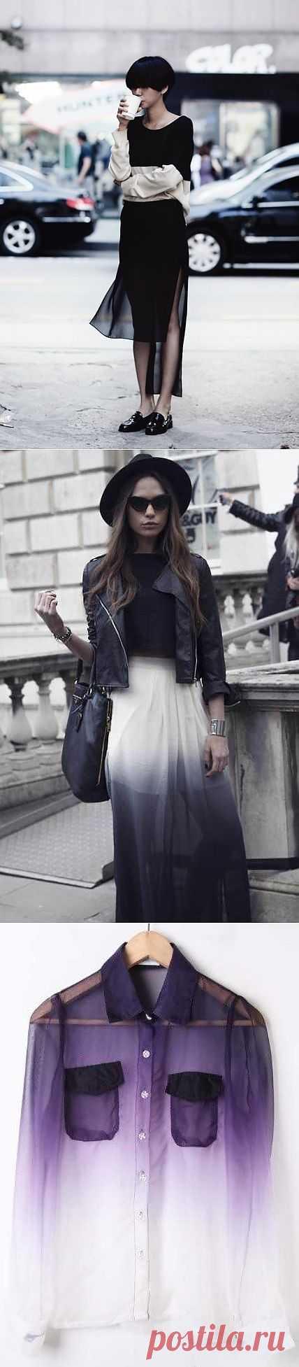 Прозрачности (большая подборка) / Тенденции / Модный сайт о стильной переделке одежды и интерьера
