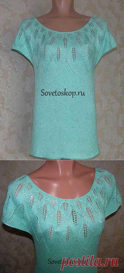Вязание - кофточки разных моделей..
