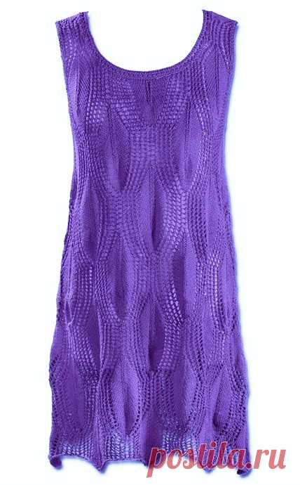 Платье-туника спицами схема. Как связать платье-тунику спицами   Я Хозяйка
