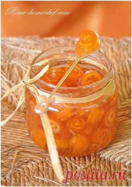 Варенье из апельсиновых корок. Комментарии
