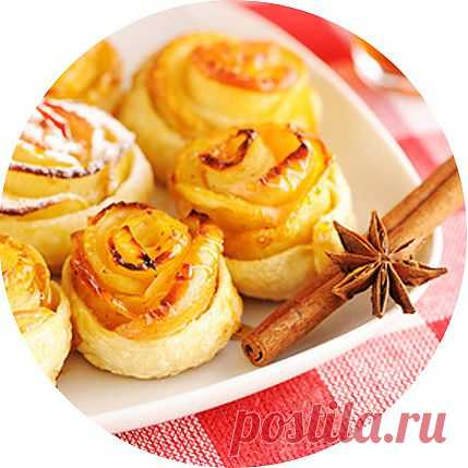 Вкусные и быстрые яблочные булочки с корицей!