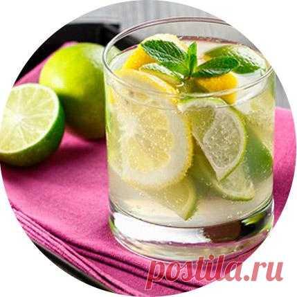 Лимонад из лимона и лайма!