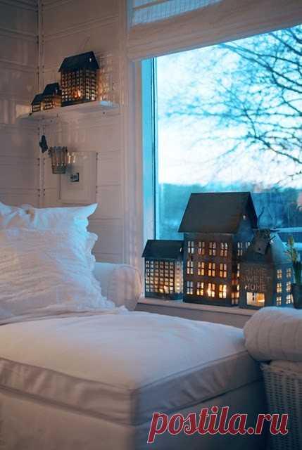 домики - ночники