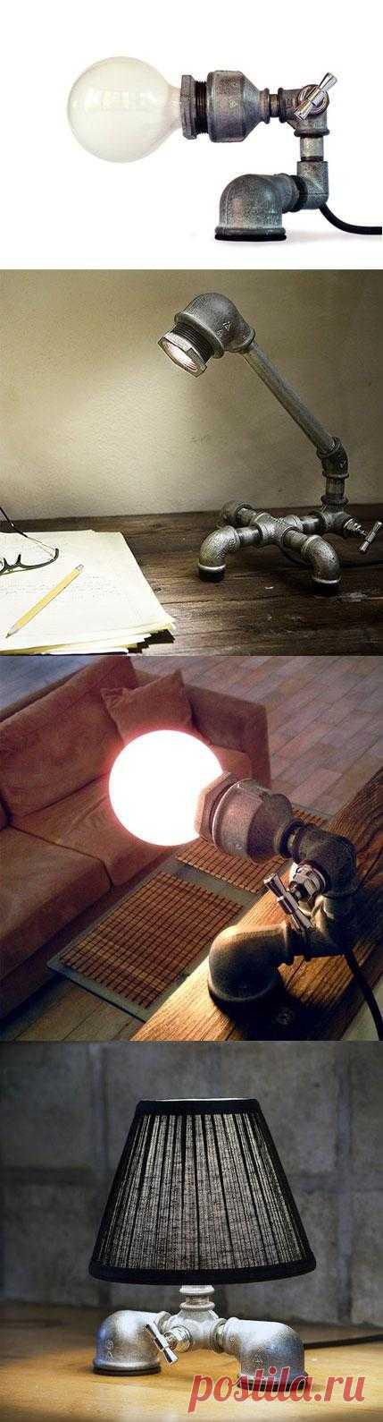 Ищете что-то концептуальное в лофт интерьер? Или хотите создать филосовский подтекст в офисе нефтяной компании? Воспользуйтесь идеей и пусть все знают, что будет если перекрыть кран!