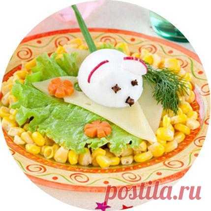 Детское блюдо «Мышка».