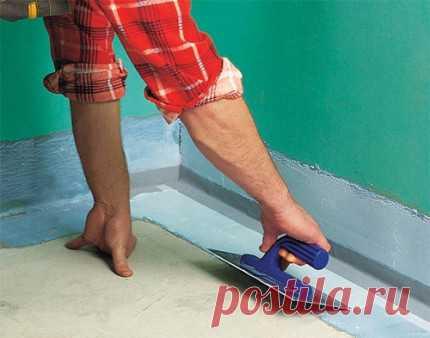Как класть плитку на пол в ванной: технология укладки
