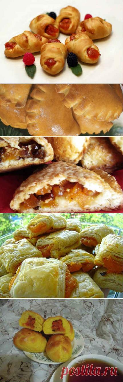 вид зажима, рецепт приготовления пирожков наоборот с фото этой статье