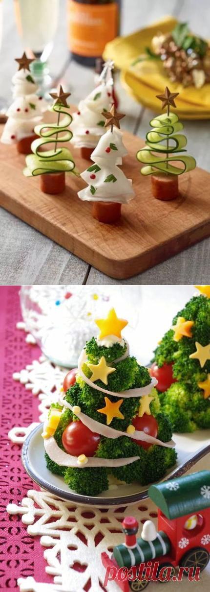 Идеи украшения новогоднего стола — DIYIdeas
