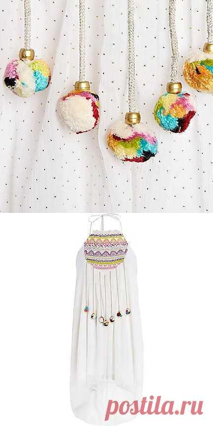 симПОМПОНЧИКИ от RI / Декор / Модный сайт о стильной переделке одежды и интерьера