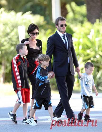 Los niños de las celebridades - la familia Bekhem