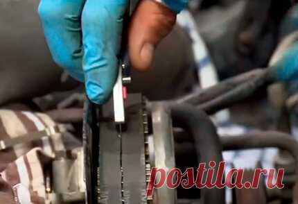 Как за 15 минут заменить ремень ГРМ без установки меток на любом авто