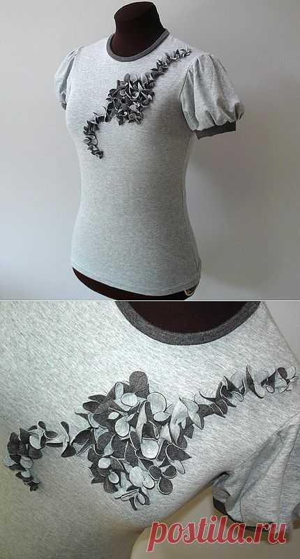 кастомайзинг, переделка футболки / Аксессуары (не украшения) / Модный сайт о стильной переделке одежды и интерьера