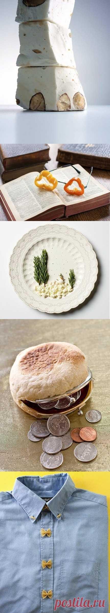 Необычные фтографии еды.