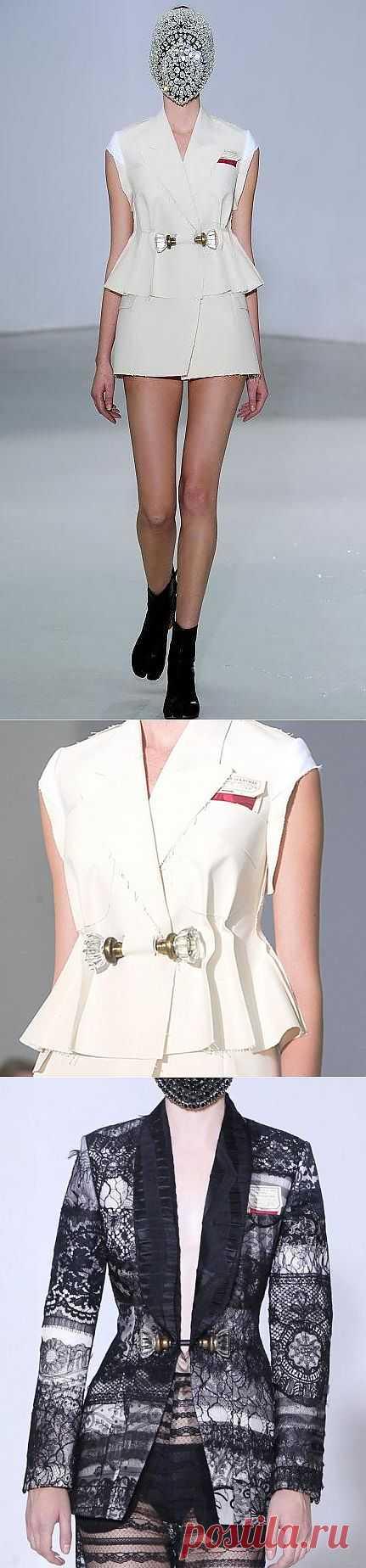 Застежка от Margiela (подборка) / Детали / Модный сайт о стильной переделке одежды и интерьера