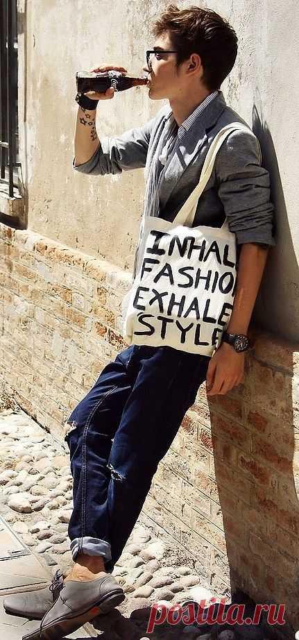 Вдыхай моду, выдыхай свой стиль / Рисунки и надписи / Модный сайт о стильной переделке одежды и интерьера