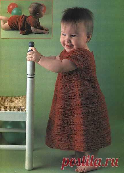 Сарафан для маленькой девочки.