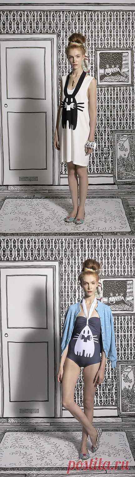 Зайчики от Peter Jensen / Рисунки и надписи / Модный сайт о стильной переделке одежды и интерьера