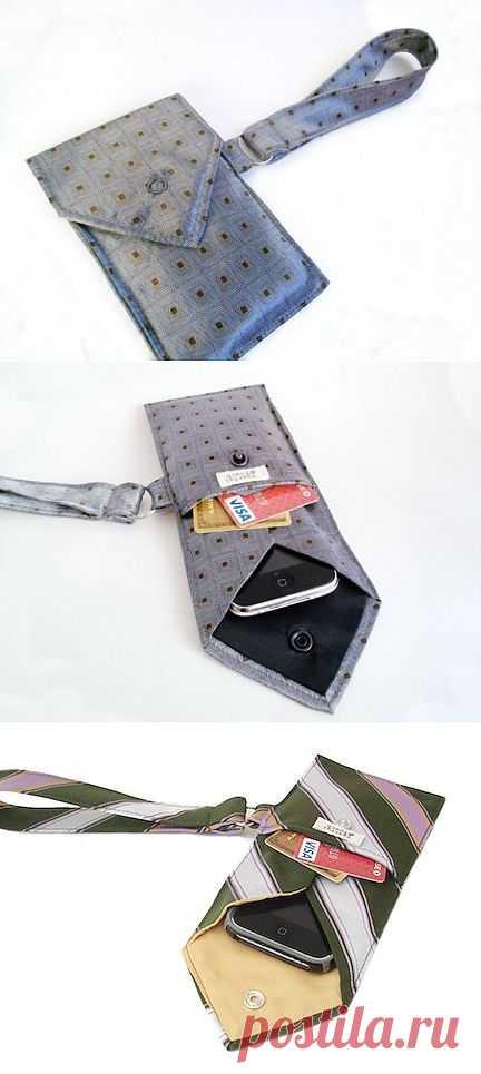Вторая жизнь галстука (DIY) / Мужские галстуки / Модный сайт о стильной переделке одежды и интерьера