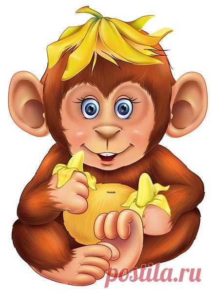 Красивые рисунки обезьян