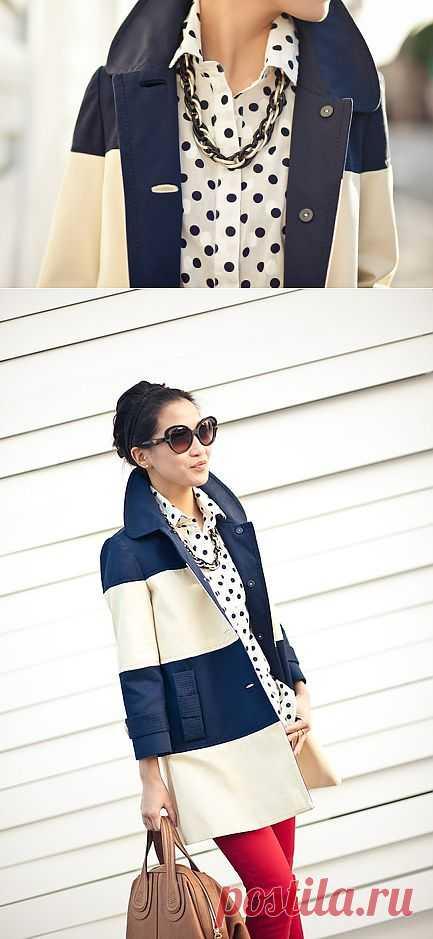 Интересное пальто / Street Style / Модный сайт о стильной переделке одежды и интерьера