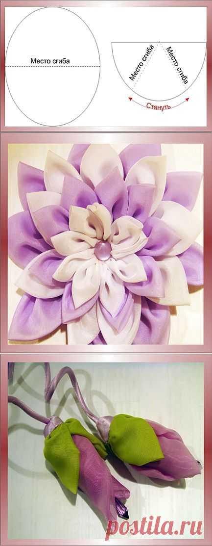 Мудрыми, на открытках цветы из ткани своими руками